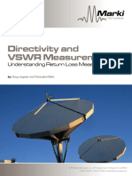Marki Directivity and Vswr Measurements-min