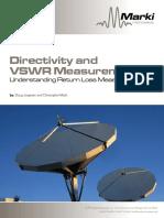 Marki Directivity and Vswr Measurements-min