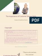 The Importance of Customer Service Skills