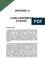 6502 Assembler in Basic