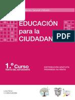 1ro  Educacion Para La Ciudadania