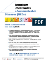 The MDGs and NCDs_0