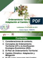 Ordenamiento Territorial y Adaptación al CC.ppt