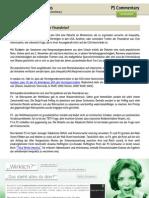 PS Commentary 23.09.2010 - Verteilungsdynamik des Vermögens verantwortlich für Finanzkrise