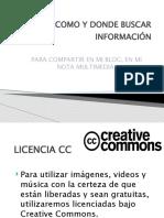 Recursos Creative Commons