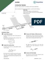 Quick Installaton Guide-MI-250(Daisy Chain Version)