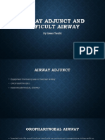 Airway adjunct and difficult airway.pptx