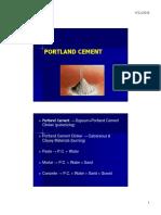 5. Portland Cement
