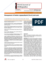 Management of Lumbar Zygapophysial (Facet) Joint Pain