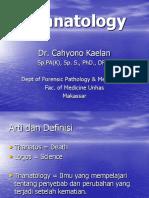 3 Thanatology - FKUH - 2015