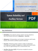 5- System Reliability and Ancillary Services