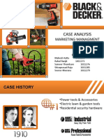 Case Analysis - Black & Decker - Group 1