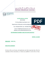 Contract Letter From Allied Medical Center Uae