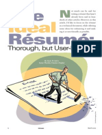 The Ideal Resume 2