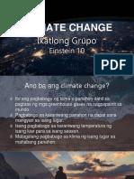Climate Change Mega Ppt