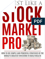 You Can Invest Like A Stock Market Pro