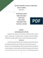 Bonhoc Group Summary