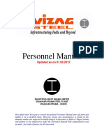 Personnel Manual