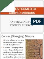 Ray Tracing Convex Mirror