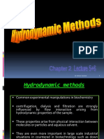 2-Hydrodynamic Methods (Sedimentation, Centrifugation and Ultracentrifugation