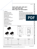 6N137 Datasheet