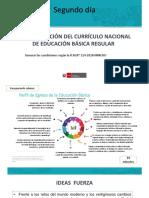 IMPLEMENTACIÓN DEL CURRÍCULO NACIONAL DE EDUCACIÓN BÁSICA REGULAR
