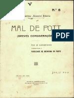 Mal de Pott (1918)