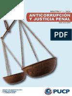 Anticorrupción y justicia penal - Boletín N°2