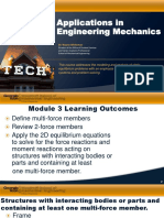 Applications in Engineering Mechanics