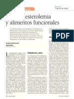 Fitoesteroles funcionales