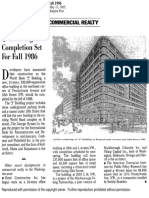 'J' Building Completion Set For Fall 1986