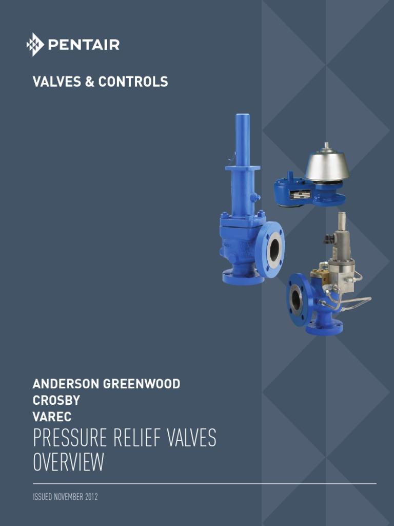 Anderson-Greenwood-general valvulas de alivio pdf | Valve