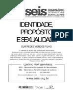 Identidade, Proposito e Sexuali - Coty