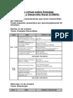 Conferencia virtual sobre Energías Renovables y Desarrollo Rura1