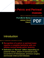 Benign Pelvic and Perineal Masses - Prof Hashim