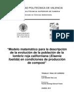 Lombricultura, Un Modelo Matematico