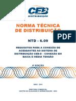 ntd 6.09 - requisitos para conexao de acessantes ao sistema ceb-d 4 ed.pdf
