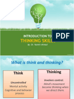 Chapter 1- Introduction To Thinking Skill.pptx