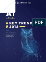 Six Key Trends - How AI will revolutionize the media industry