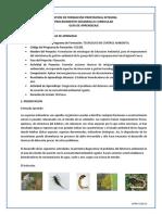 GA Establecer Bioindicadores de Contaminacion de Aire, Agua y Suelo