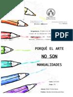 EstherT-La educación artística no son manualidades