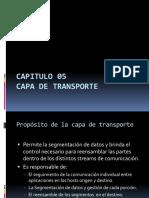 Capitulo 5 - Capa de Transporte