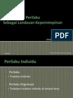 1. Dasar-Dasar Perilaku_ S2_Ledership.pptx