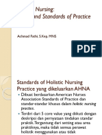 CORE VALUE Holistic Nursing