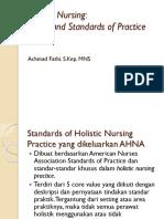 CORE VALUE Holistic Nursing
