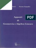 Norma Zagaglia, Rodolfo Salvi-Appunti di Geometria e Algebra Lineare-Epitesto (2011).pdf
