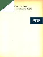 Vida de Don Juan Manuel de Rosas. Tomo III - Gálvez, Manuel