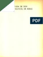 Vida de Don Juan Manuel de Rosas. Tomo II - Gálvez, Manuel