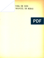 Vida de Don Juan Manuel de Rosas. Tomo I - Gálvez, Manuel