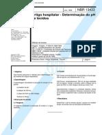 NBR 13433 - Artigo hospitalar - Determinacao do pH de tecidos.pdf